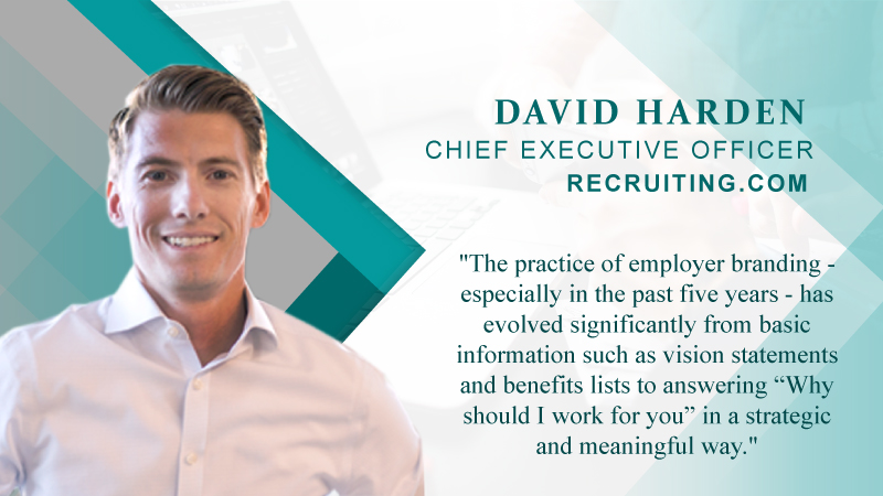 Interview With Chief Executive Officer, Recruiting.com – David Harden