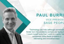 Interview with VP, Sage People – Paul Burrin